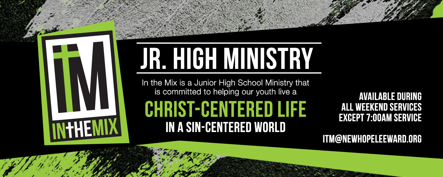 In the Mix Junior High Services