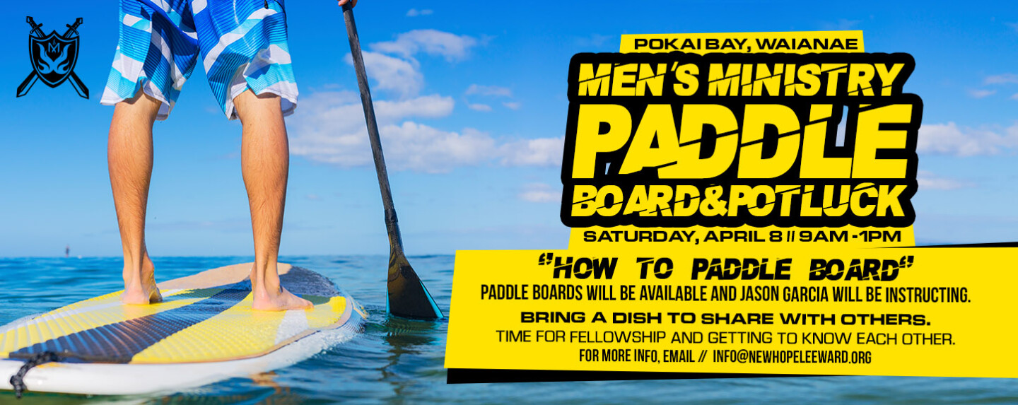 Mens Ministry Paddle Boarding