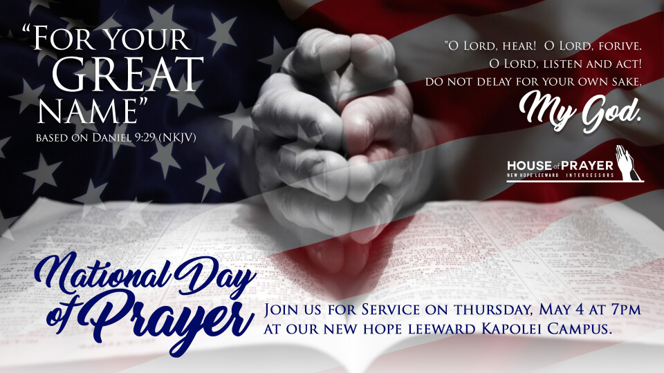 National Day of Prayer - Special Service