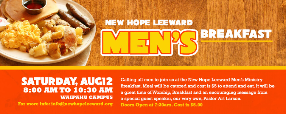 Men's Ministry Breakfast