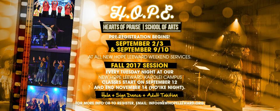 HOPE Creative Arts Classes